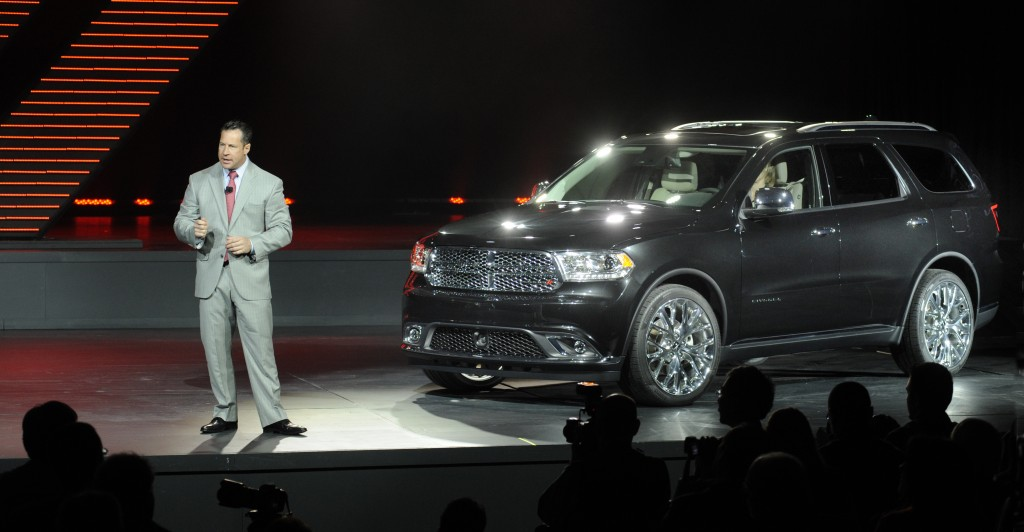 2014 Dodge Durango New York International Auto Show World Debut