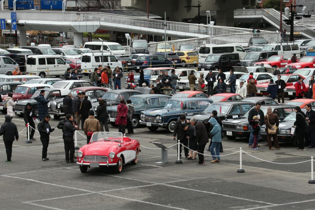 Nissan Celebrates 80th Anniversary in Yokohama