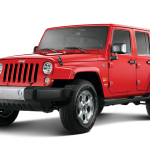 The Jeep Wrangler Canstruction looks just like the real thing