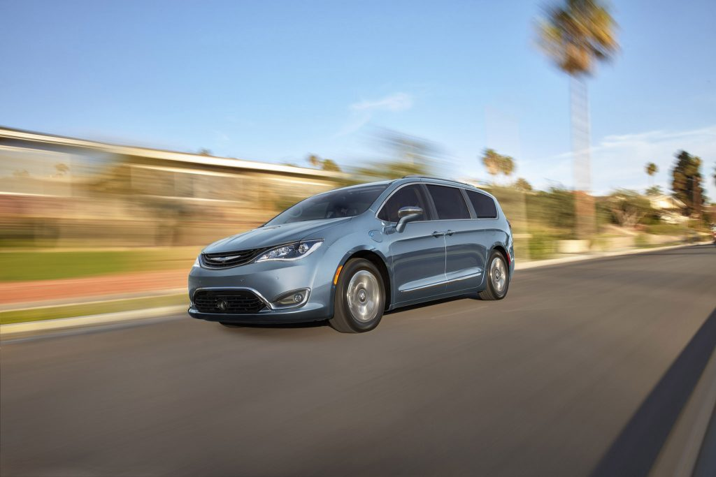 2017 Chrysler Pacifica Plug-in Hybrid