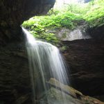 Camping in Pennsylvania- Raccoon Creek State Park Waterfall