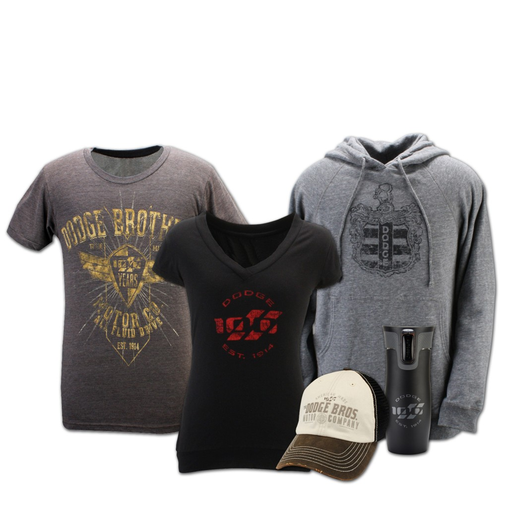 Dodge merchandise and accessories - 100th Anniversary